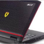 Acer Ferrari 1200 portable laptop pc
