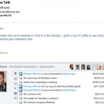 Stay connected with Windows Live Messanger and Facebook via Microsoft Outlook Social Connector