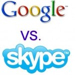 Google beating Skype