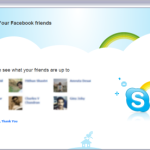 Skype 5 incorporates Facebook and other new features