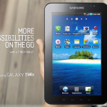 Samsung first Android Samsung Galaxy Tab