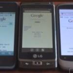 Windows Phone 7  vs. iPhone 4 vs. Droid X