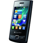LG P520 dual Sim Quad band GSM touch screen phone announced