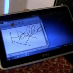 MSI WindPad U100W Tablet PC will be shown at CES 2011