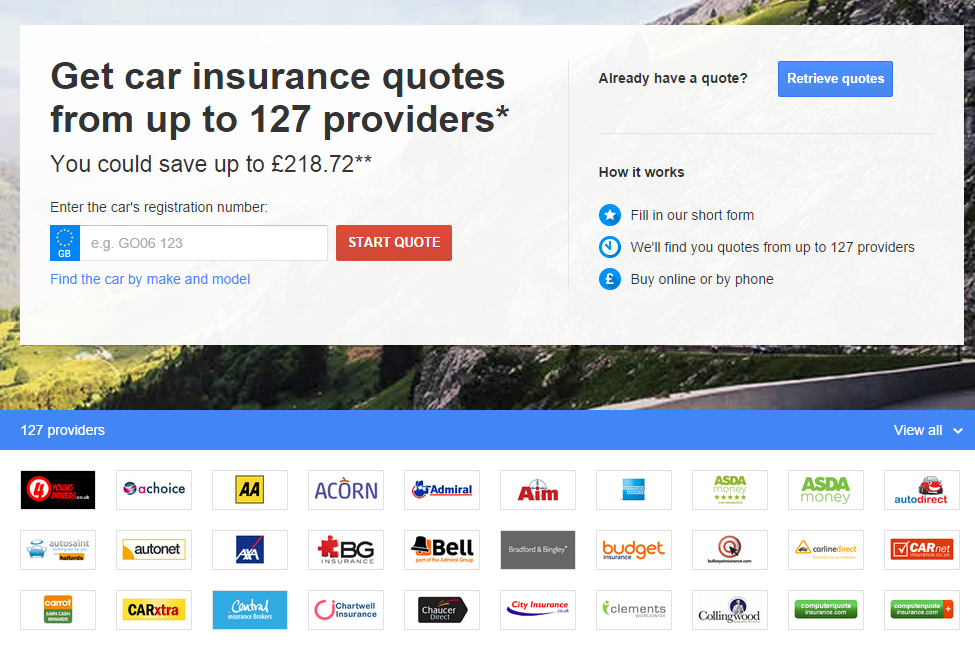 Google Compare – Insurance Plans Simplified