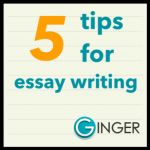 Top Essay Writing Tips for New Student