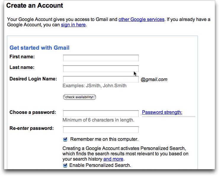 Create Gmail Account Fast >> Create Gmail Account How To Set Up Gmail Account Free Gmail Account