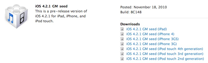 How to Jailbreak iOS 4 2 1 GM on iPhone 4, 3GS, 3G and iPod