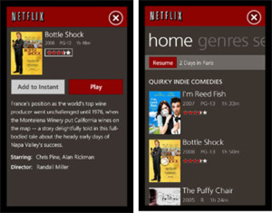Download Netflix for Windows Phone 7