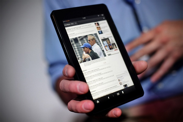 Amazon's 3rd Gen Kindle Fire Tablet