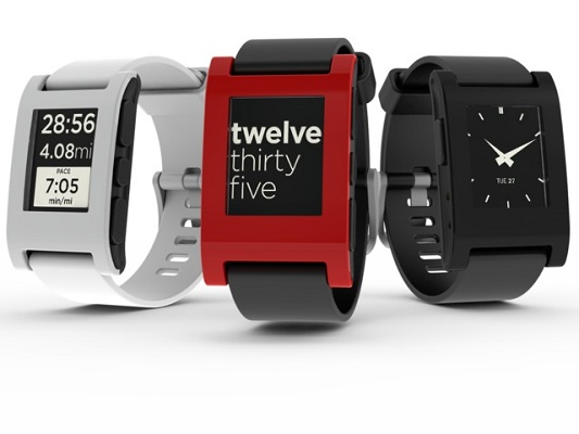 Pebble Wrist Watches
