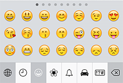 Enable Emoji Emoticon keyboard in iOS