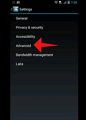 How to Enable JavaScript on an Android phone3